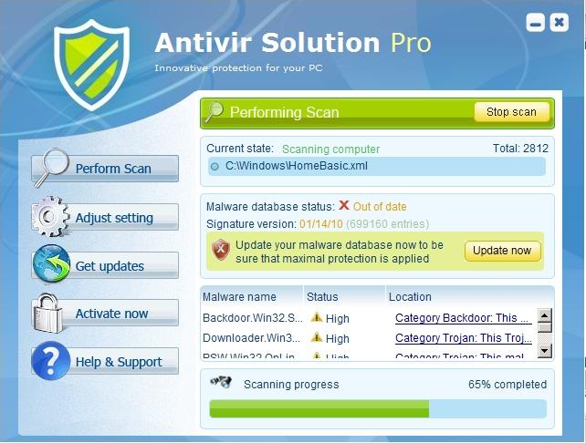 PC Defender 360 вируса (удалить инструкции). Внимательный Antivirus (инстр